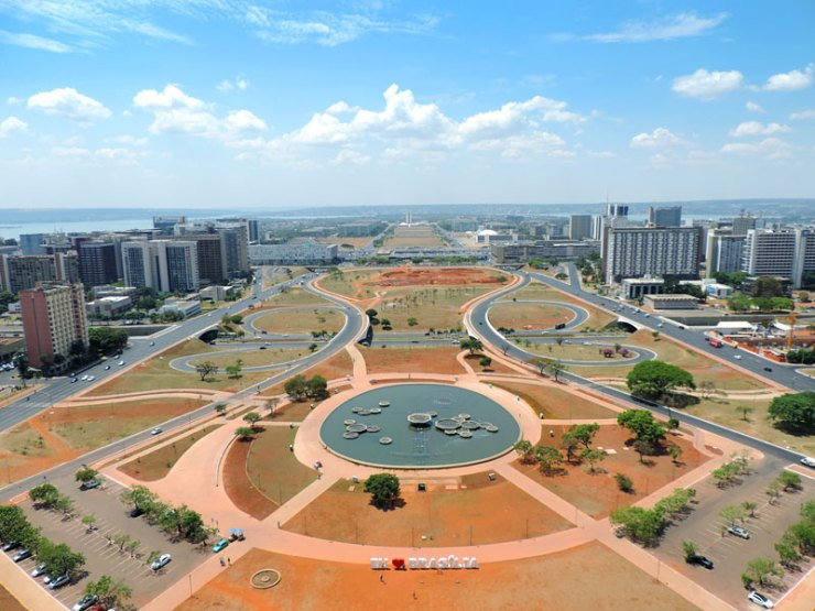 O que fazer em Brasília - Esplanada dos Ministérios (Foto: Esse Mundo É Nosso)
