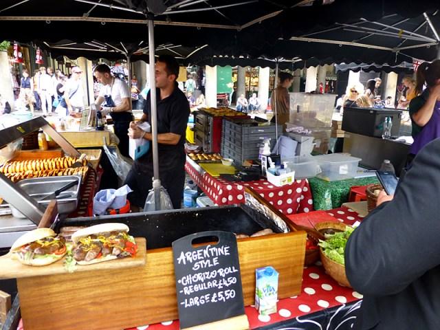 Feira gastronômica em Londres (Foto: Esse Mundo é Nosso)