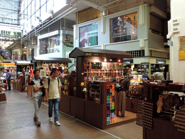O que fazer em Kuala Lumpur: Central Market (Foto: Esse Mundo É Nosso)