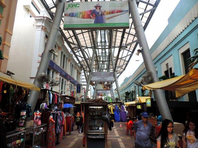 O que fazer em Kuala Lumpur: Kasturi Walk (Foto: Esse Mundo É Nosso)