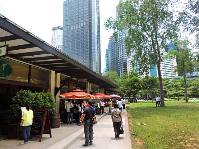 O que fazer em Manila: Ayala Triangle (Foto: Esse Mundo É Nosso)