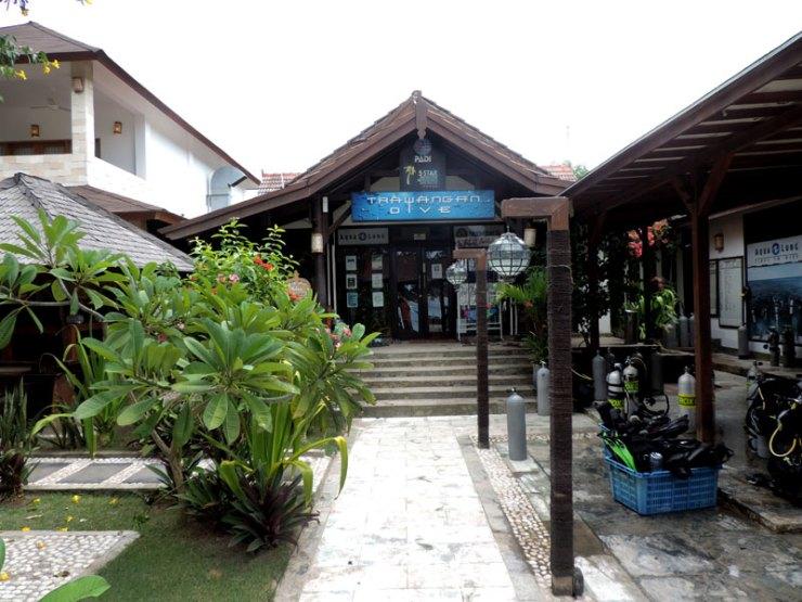 Onde ficar em Gili Islands - Trawangan Dive Centre (Foto: Esse Mundo É Nosso)