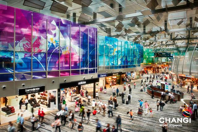 Aeroporto de Cingapura (Foto: Changi Airport)