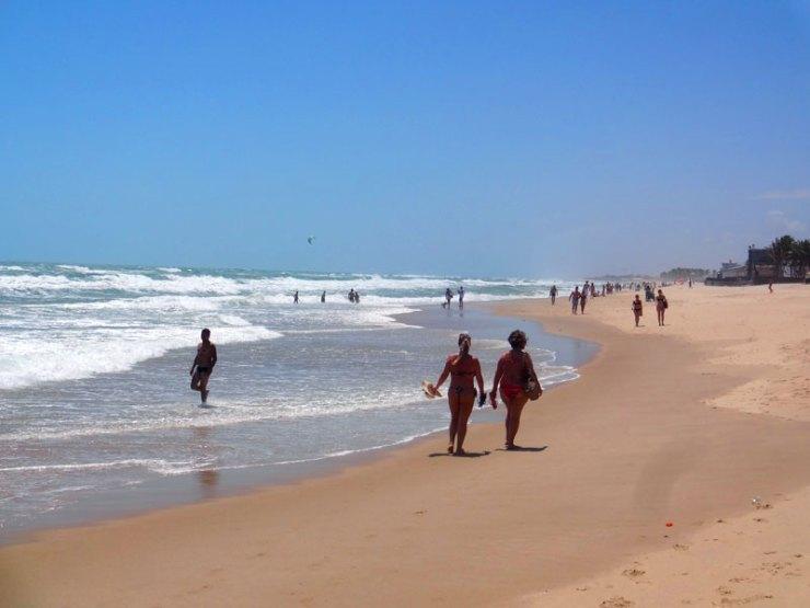 Praias de Fortaleza: Praia do Futuro (Foto: Esse Mundo É Nosso)