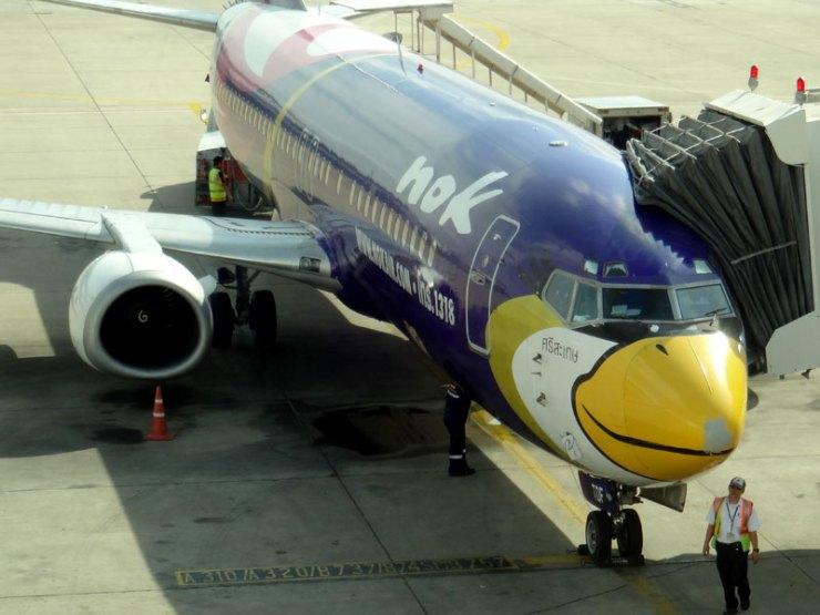 Como é voar pela Nok Air, na Tailândia (Foto: Esse Mundo É Nosso)