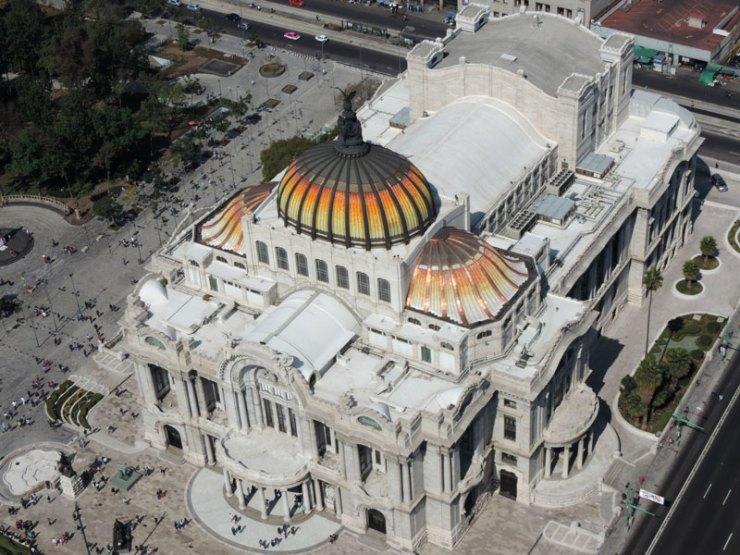 Palacio de Bellas Artes, Centro Histórico da Cidade do México (Foto: Esse Mundo é Nosso)