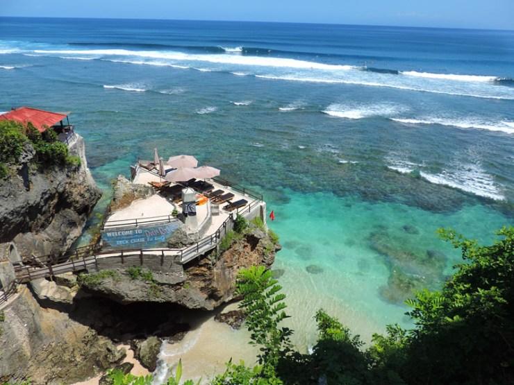 Praias do Sudeste Asiático - Blue Point em Uluwatu, Bali (Foto: Esse Mundo É Nosso)