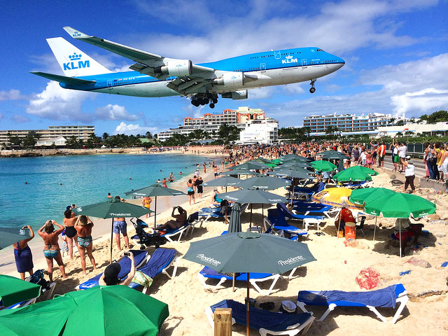 Aeroporto de Saint Maarten [Foto: World Poker Tour - CC BY-NC 2.0]