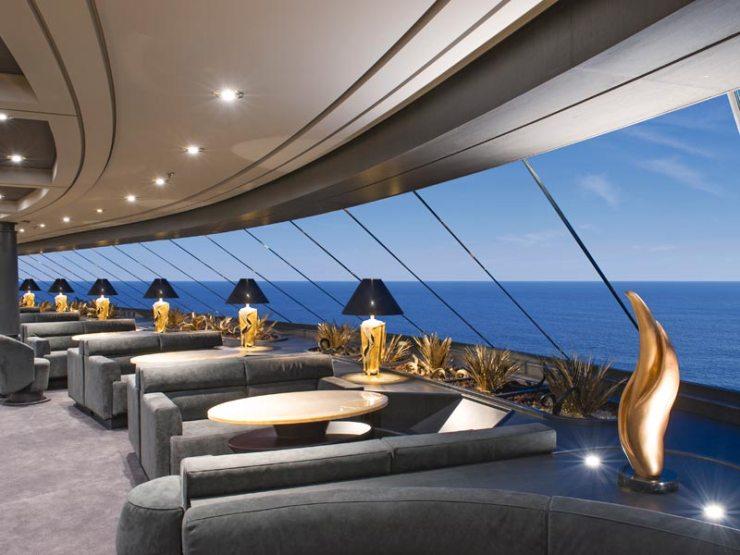 Restaurante MSC Yacht Club (Foto: Divulgação)