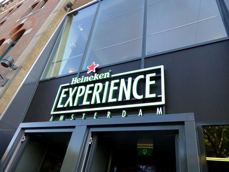 Heineken Experience em Amsterdam (Foto: Esse Mundo é Nosso)