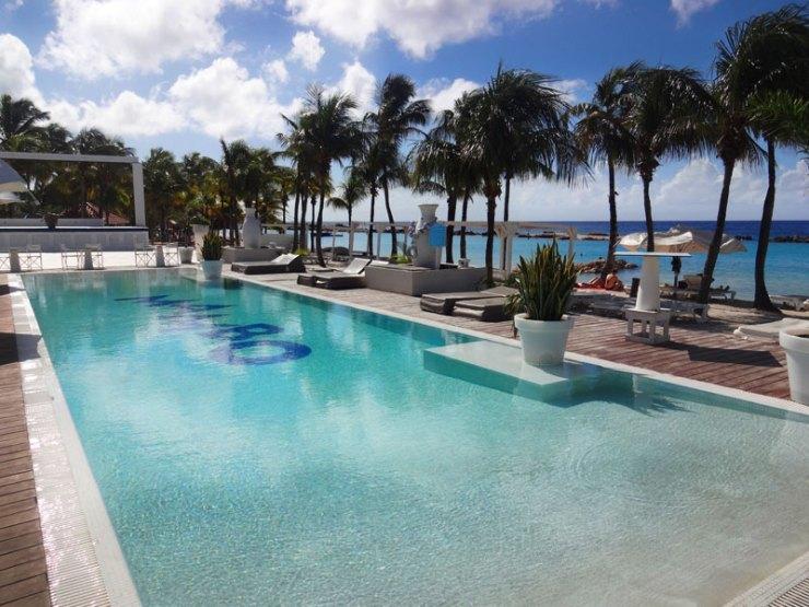 Melhores Praias de Curaçao: Mambo Beach (Foto: Esse Mundo É Nosso)