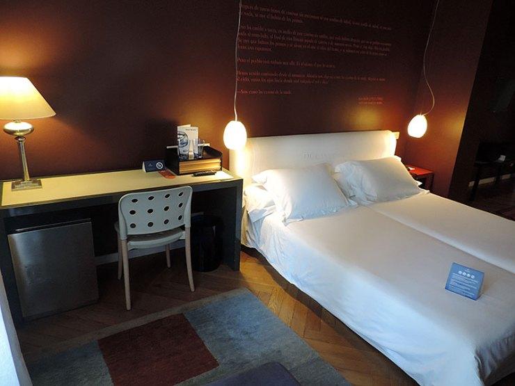 Dica de hotel em Madrid: Iberostar Las Letras Gran Vía (Foto: Esse Mundo É Nosso)