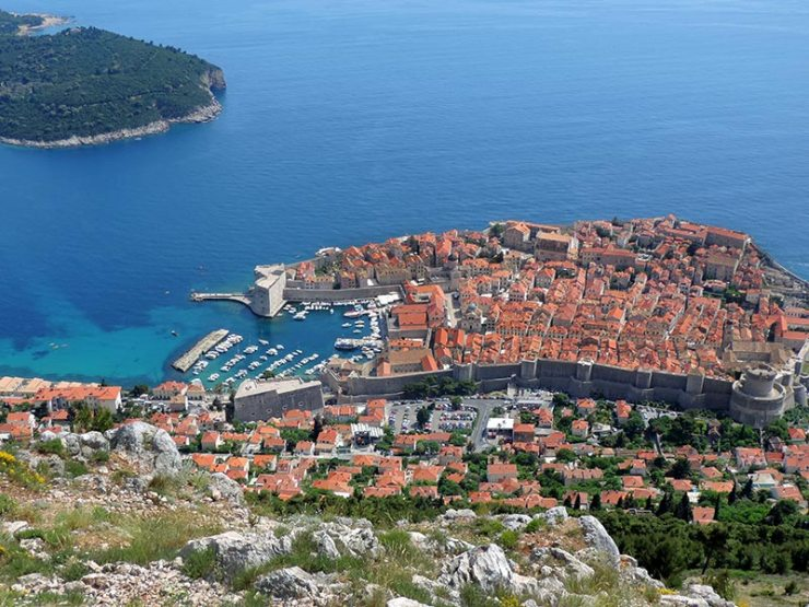 Dubrovnik: A verdadeira King's Landing de Game of Thrones (Foto: Esse Mundo É Nosso)