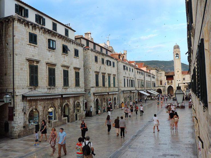 Onde ficar em Dubrovnik, Croácia - Vista do apartamento (Foto: Esse Mundo É Nosso)