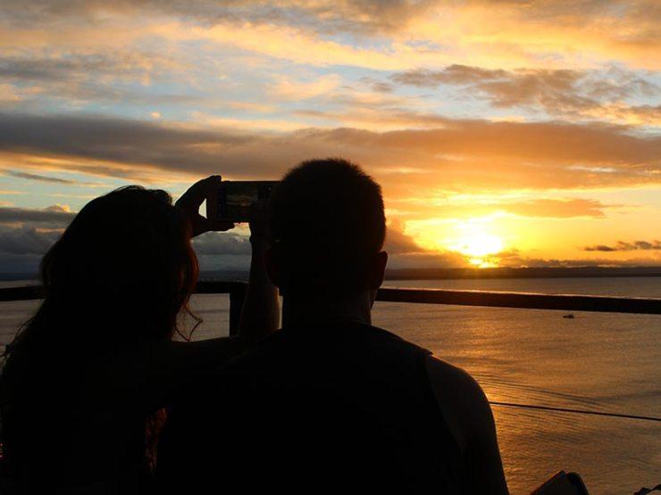 Pôr-do-sol em Morro de São Paulo, Bahia (Foto: Esse Mundo É Nosso)