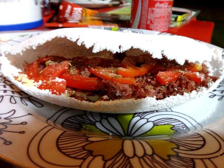 Onde Comer em Fernando de Noronha: Tapioca da Babalu (Foto: Esse Mundo é Nosso)