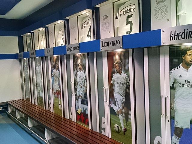 Visita ao Santiago Bernabéu (Foto: Henrique Bezerra)