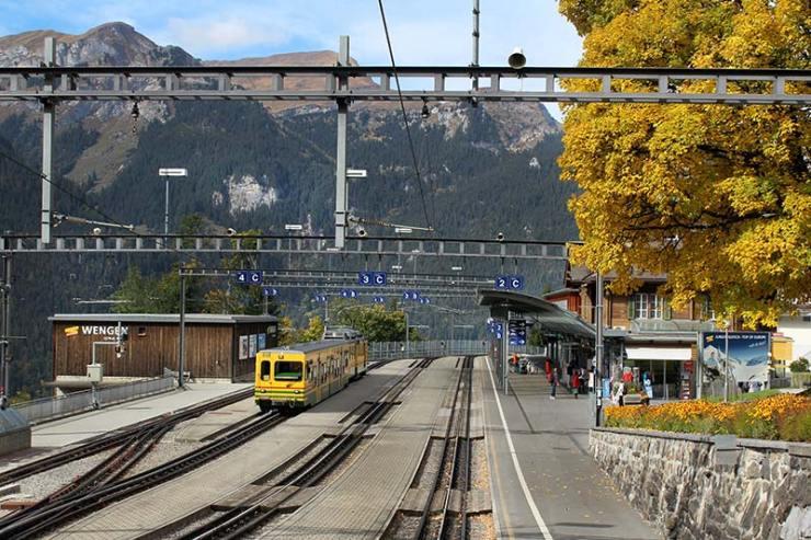 Como chegar a Wengen, Suíça (Foto: Esse Mundo É Nosso)