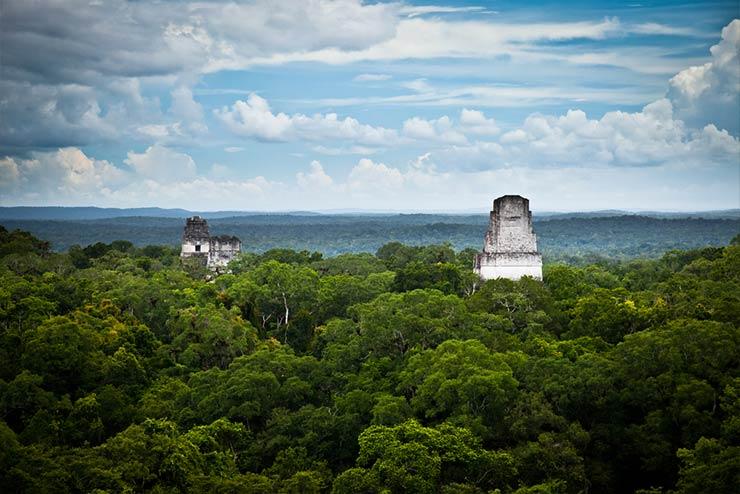Cenários de Star Wars que existem de verdade - Tikal, Guatemala (Foto via Shutterstock)
