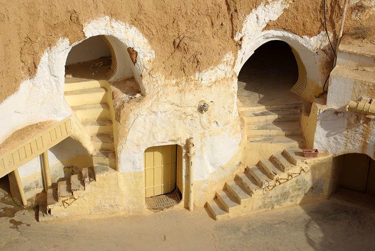 Cenários de Star Wars que existem de verdade - Matmata, Tunísia (Foto via Shutterstock)