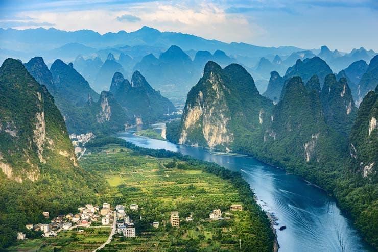 Cenários de Star Wars que existem de verdade - Guilin, China (Foto via Shutterstock)