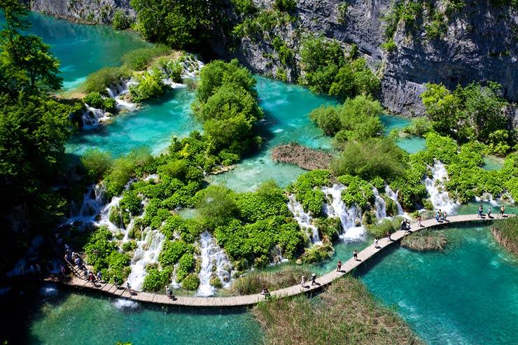 Lagos Plitvice, Croácia (Foto via Shutterstock)