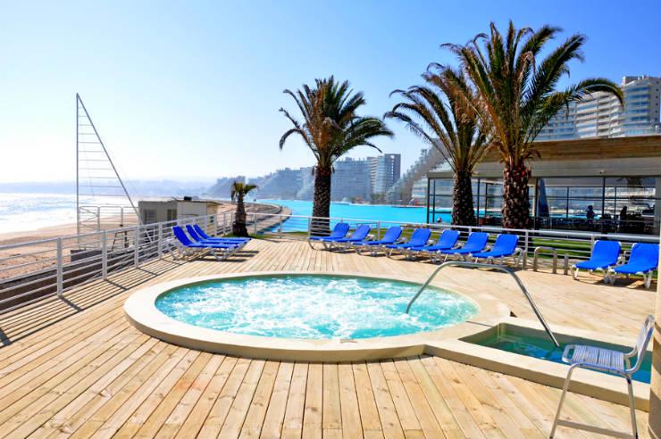 Maior piscina do mundo em San Alfonso del Mar, Chile (Foto: Divulgação San Alfonso del Mar)