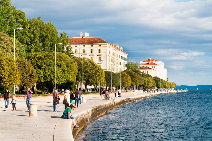 Riva - Dicas de Zadar (Foto via Shutterstock)