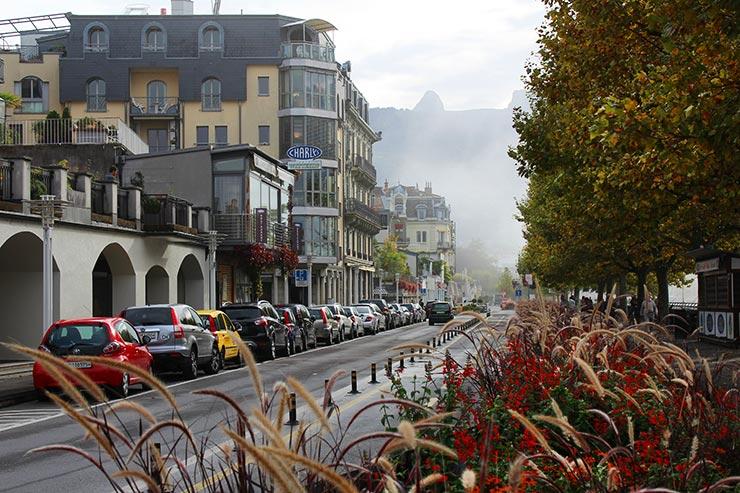 Orla de Vevey, Suíça (Foto: Esse Mundo É Nosso)