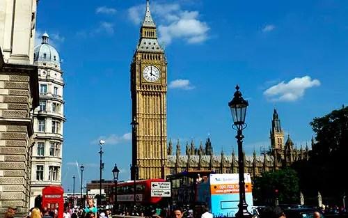 Londres com Sol (Foto: Esse Mundo é Nosso)