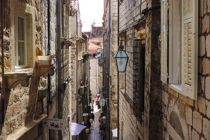 O que fazer em Dubrovnik, Croácia: Ruela da cidade (Foto: Esse Mundo É Nosso)