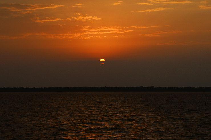 O que fazer em Belém: Pôr do sol na Estação das Docas (Foto: Esse Mundo É Nosso)