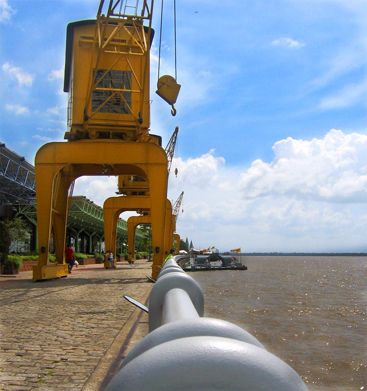 O que fazer em Belém: Estação das Docas (Foto: Esse Mundo É Nosso)