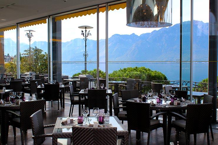 Onde comer em Montreux - Le 45 (Foto: Esse Mundo É Nosso)