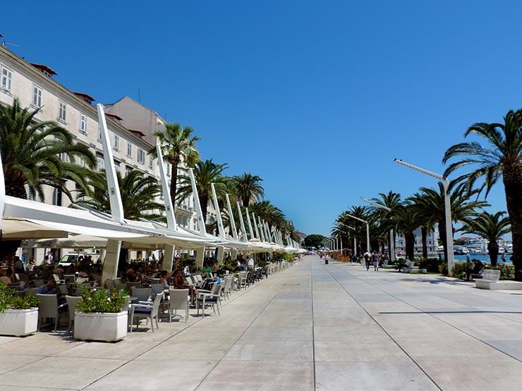 O que fazer em Split, Croácia - Riva (Foto: Esse Mundo É Nosso)