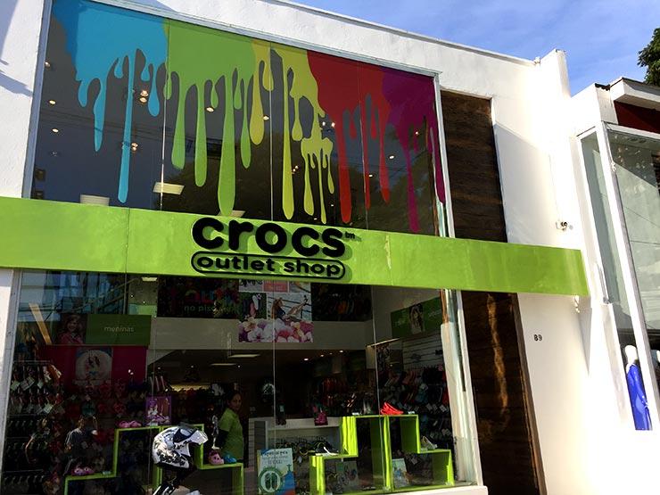 Outlet em São Paulo: Crocs (Foto: Esse Mundo é Nosso)