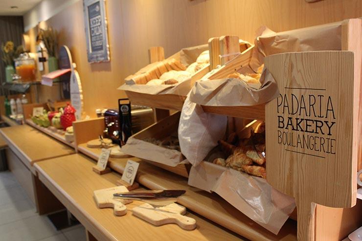 Hotel ibis em Lisboa: Café da manhã do ibis Liberdade (Foto: Esse Mundo É Nosso)