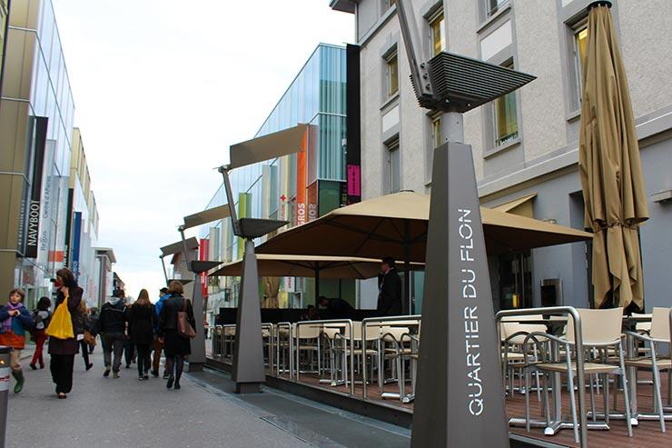 Dicas de Lausanne, Suíça - Quartier du Flon (Foto: Esse Mundo É Nosso)