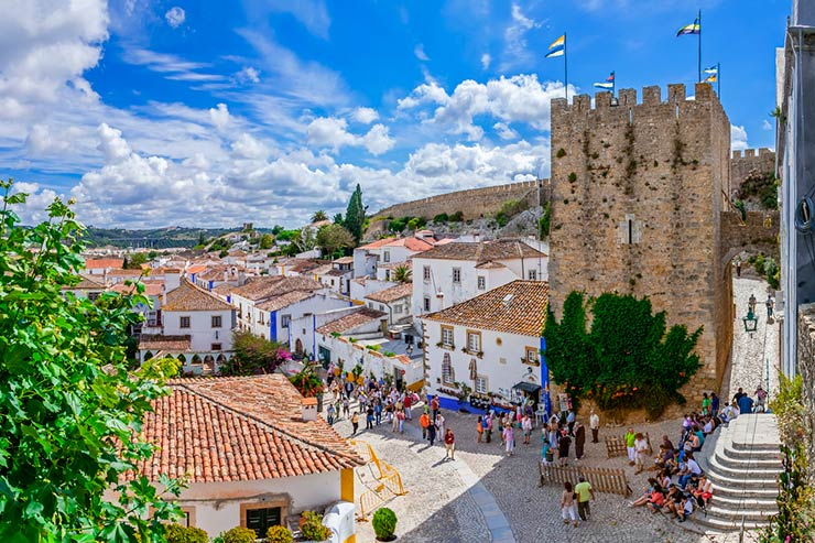 Cidades de Portugal - Óbidos (Foto via Shutterstock)
