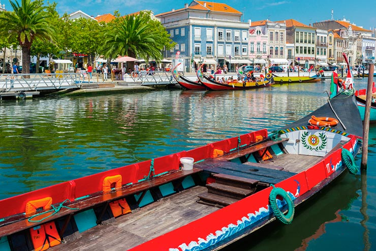 Cidades de Portugal - Aveiro (Foto via Shutterstock)