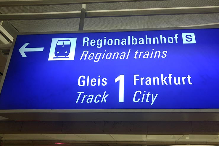Como ir do aeroporto de Frankfurt ao centro (Foto: Esse Mundo É Nosso)