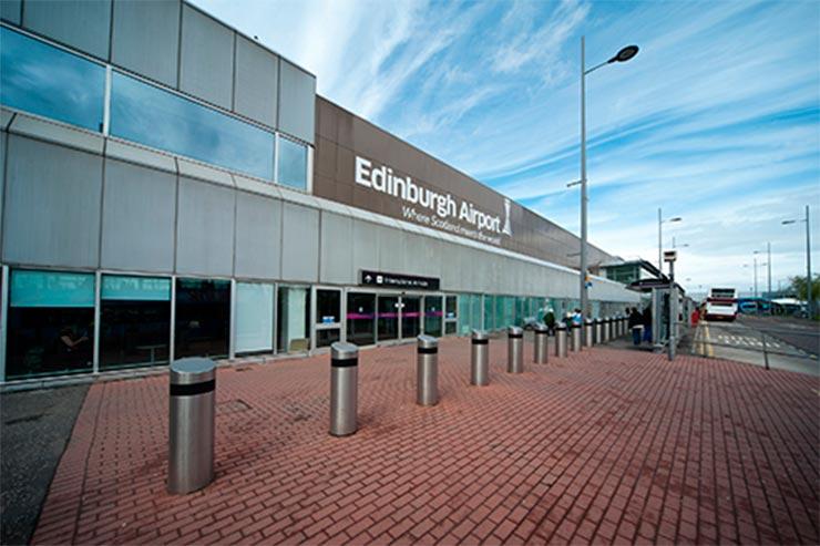 Foto: Divulgação/Aeroporto de Edimburgo
