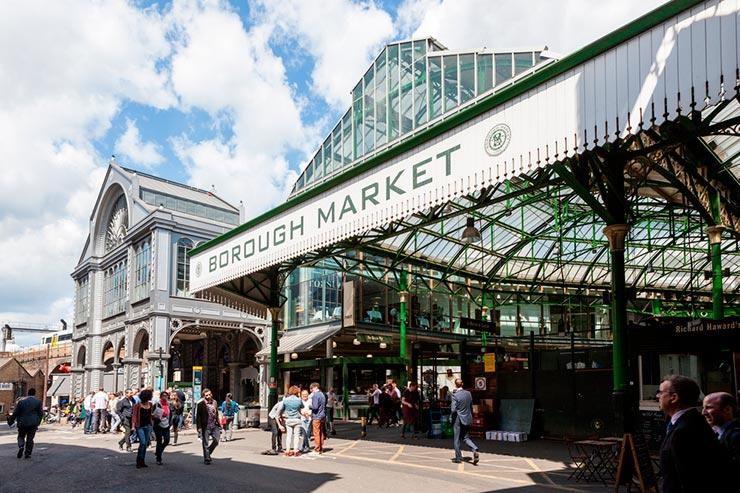 Boruogh Market - Bridget Jones em Londres (Foto: Shutterstock)