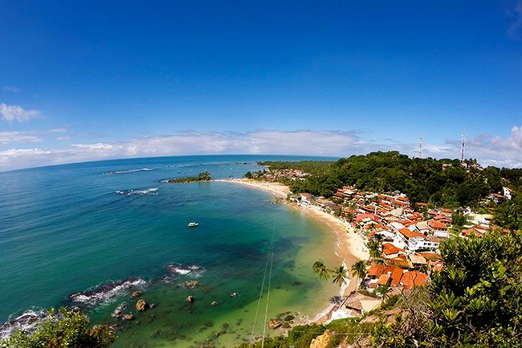 Cidades de praia na Bahia - Morro de São Paulo (Foto: Esse Mundo é Nosso)