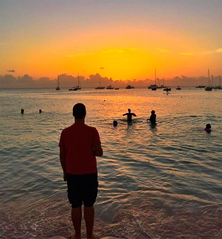Onde ver o pôr do sol em Barbados (Foto: Esse Mundo É Nosso)