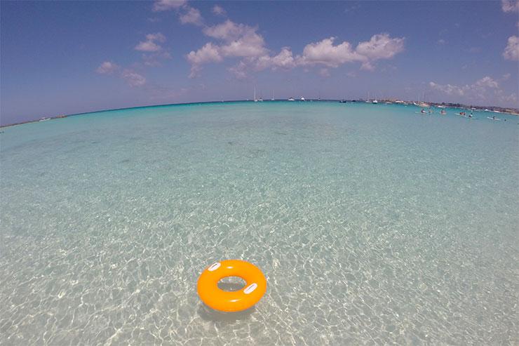 Melhores praias de Barbados: Pebbles Beach (Foto: Esse Mundo É Nosso)