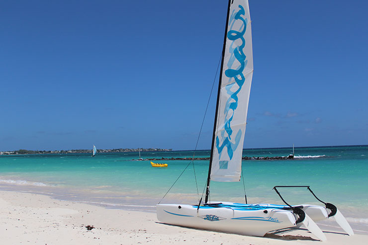 Melhores praias de Barbados: Maxuell Beach (Foto: Esse Mundo É Nosso)