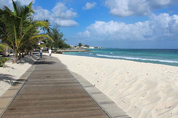 Melhores praias de Barbados: Hastings Rocks (Foto: Esse Mundo É Nosso)