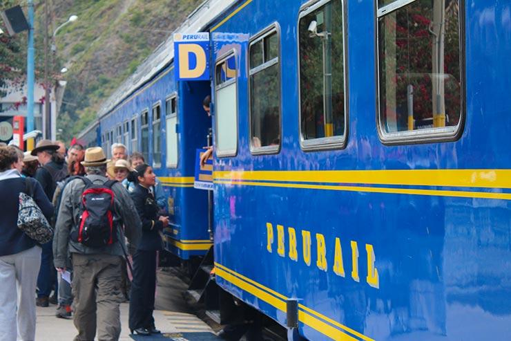Trem para Machu Picchu (foto: Esse Mundo é Nosso)