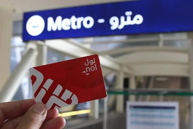 Como ir do aeroporto de Dubai ao centro: metrô (Foto: Esse Mundo É Nosso)